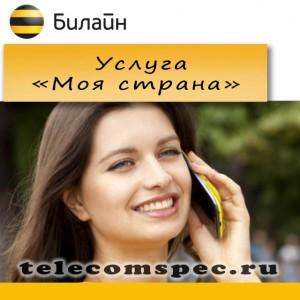Услуга «Моя страна» от Билайн – как разговаривать и экономить одновременно
