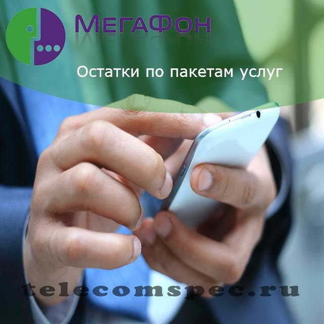 Остатки по пакетам услуг Мегафон: как проверить остаток пакета
