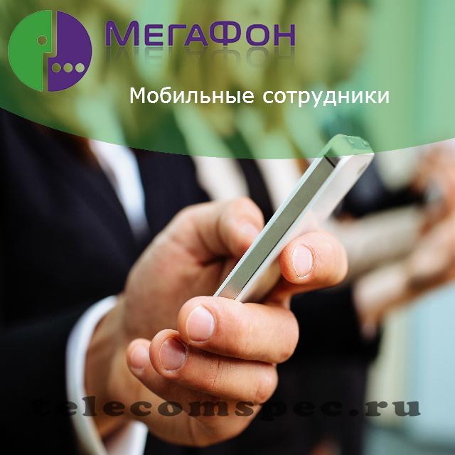 Мобильные сотрудники мегафон: описание и подключение услуги
