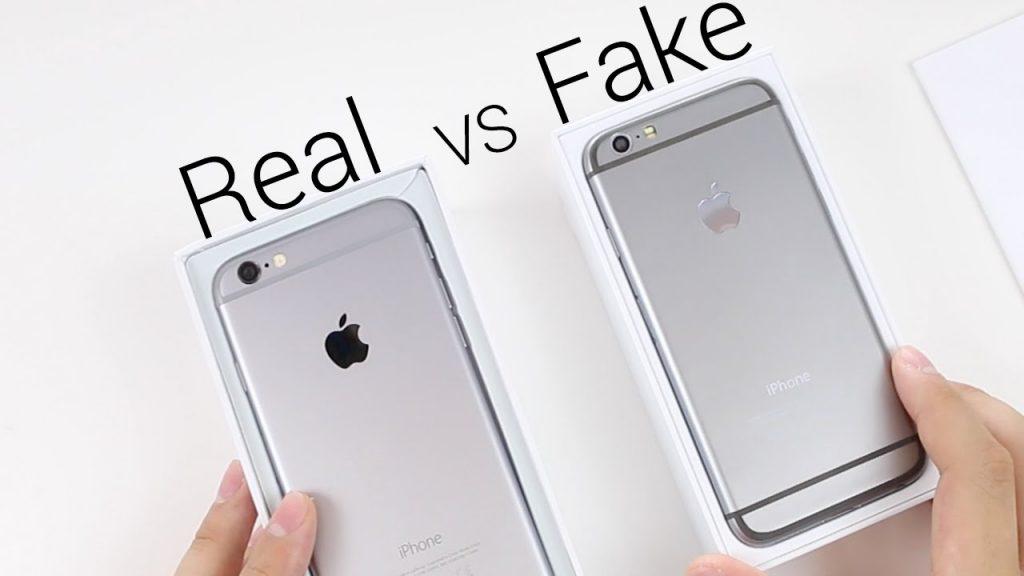 Как отличить оригинал айфон 6s от подделки: описание