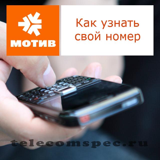 Как узнать свой номер на Мотиве: способ для получения телефона