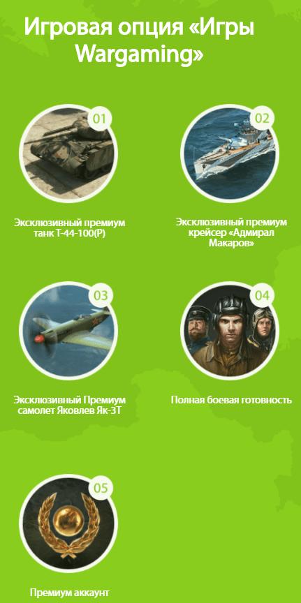 Ростелеком тариф «Игровой» с опцией World of Tanks – как подключить и получить танк?